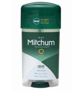 2. Mitchum Anti-Perspirant & Deodorant