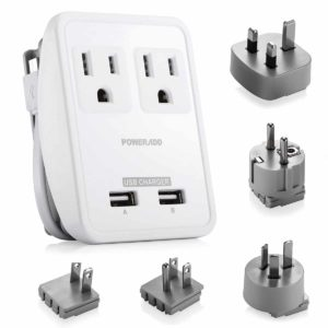 Top 10 Best Travel Power Adapters In 2018