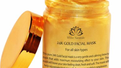 3. White Naturals 24K Gold Facial Mask