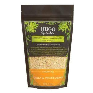 4. Hugo Naturals Effervescent Bath Salts