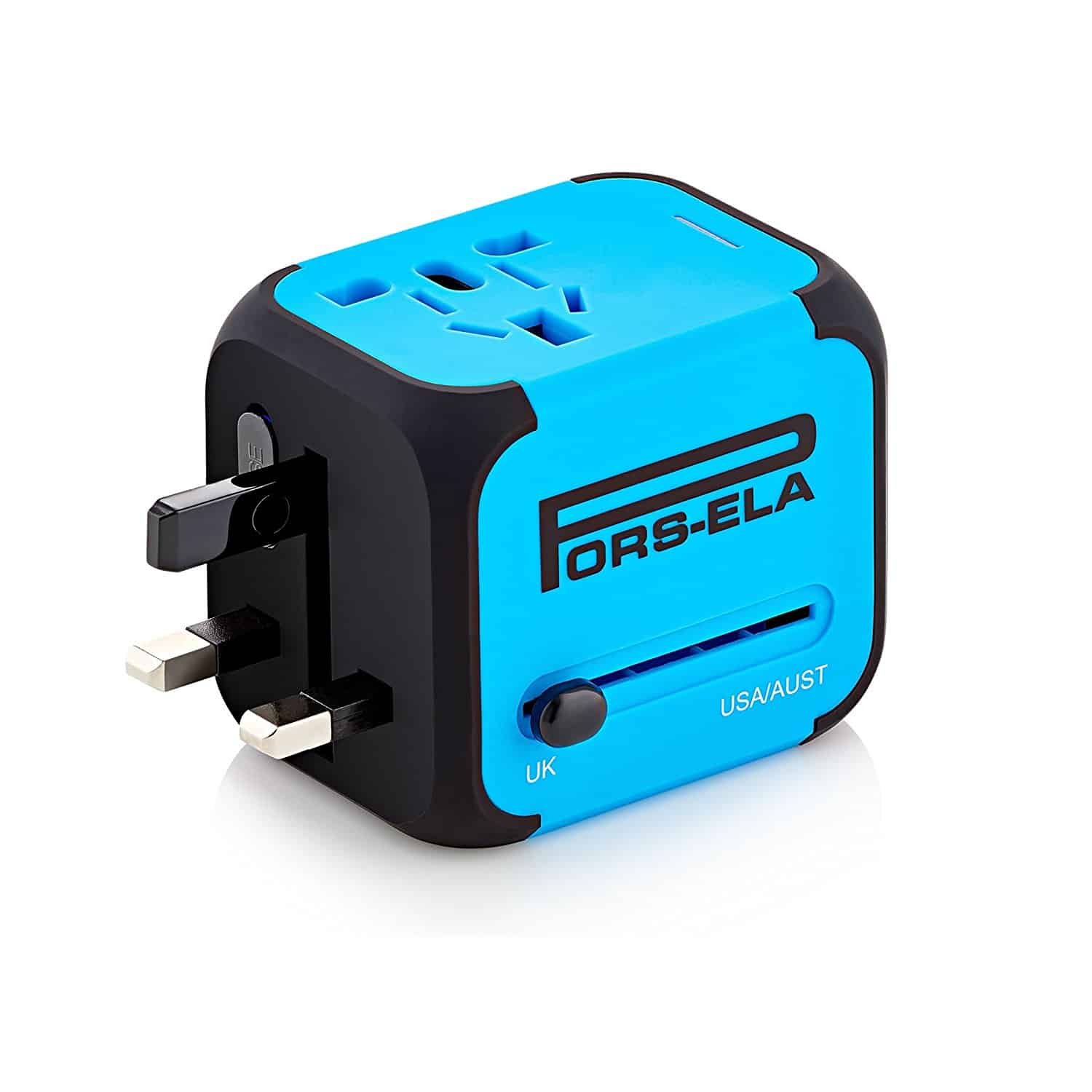 SIV Travel UK to EU Europe European Plug AC Power Charger