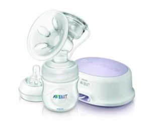 6. Philips AVENT Single Electric Comfort Breast Pump