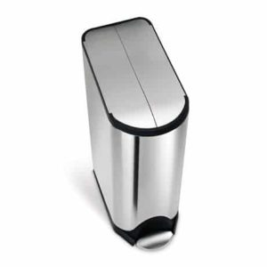 6. simplehuman Butterfly Step Trash Can