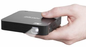 7. Ivation Portable Rechargeable Mini Projector