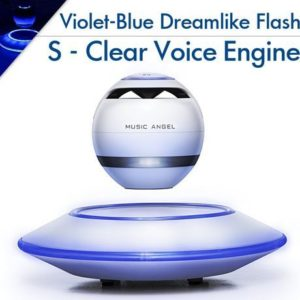7. Music Angel Levitating Bluetooth Speaker