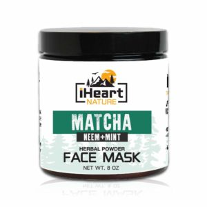 7. iHeart Nature Green Tea Matcha Face Mask