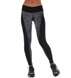 8. Manstore Women's Tights Active Yoga Running Pants Workout Leggings