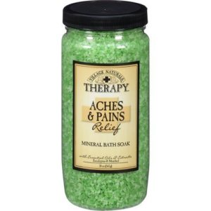 8. Village Naturals Therapy Aches & Pains Mineral Bath Soak