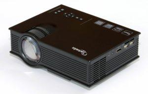 9. Taotaole Multimedia Mini Portable Projector