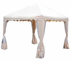 10. King Canopy 10' x10' Garden Canopy with Screened Sidewalls