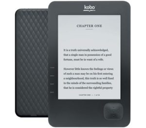 10. Kobo N647-KBU-B Wireless e-Book Reader