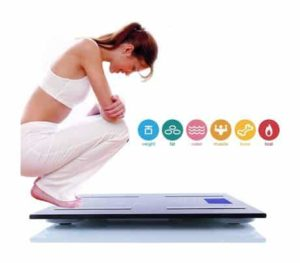 10. Thinp Digital Bathroom Electronic Body Fat Scale