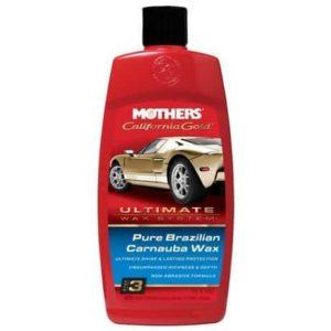 3. Mothers California Gold Pure Brazilian Carnauba Liquid Wax