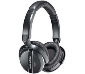 4. Audio Technica ATH-ANC27X Quiet Point Active Noise-Cancelling Headphones