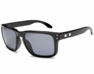 4. Oakley Men's Holbrook Polarized Rectangular Sunglasses