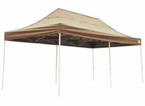 4. ShelterLogic 10x20 Straight Leg Pop-up Canopy