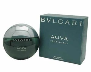 6. Bvlgari Aqua By Bvlgari For Men. Eau De Toilette Spray