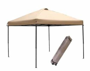 7. Abba Patio 10x10-Feet Outdoor Portable Pop Up Commercial Canopy Shelter with Vent