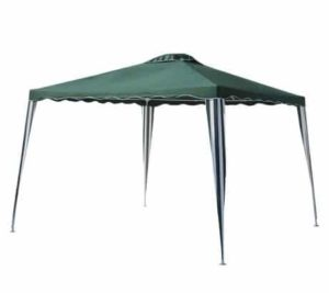 8. ALEKO 10x10 Iron Foldable PE Gazebo Canopy for Outdoor Events Picnic Party