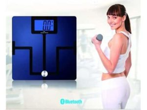8. Easy@Home Bluetooth Body Fat Digital Scale with App for Smartphones and Tablets