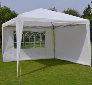 9. EZ POP UP Wedding Party Tent 10'x10' Folding Gazebo Beach Canopy