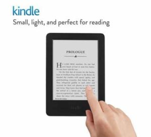 9. Kindle 6 Glare-Free Touchscreen Display