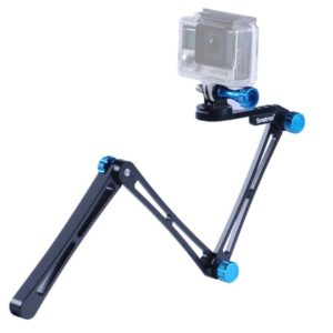 1. Smatree SmaPole X1 Aluminum Foldable Pole And Tripod Mount Adapter