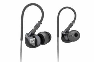1. MEE audio Sport-Fi M6 Noise Isolating In-Ear Headphones