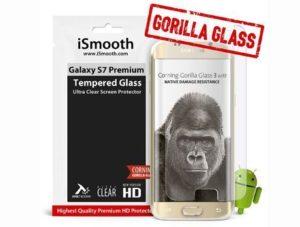 1. iSmooth Samsung Galaxy S7 Premium Glass Screen Protector