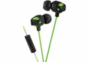 10. JVC HAFR201G XTREME In-Ear Headphone