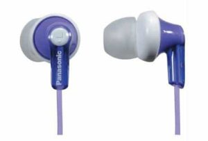 3. Panasonic ErgoFit In-Ear Earbud Headphones