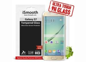 3. iSmooth Samsung Galaxy S7 Glass Screen Protector