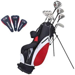 9-precise-es-mens-tall-complete-golf-club-set