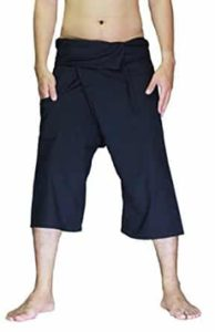 9-tiptopstore-cotton-capri-black-fisherman-wrap-yoga-pants