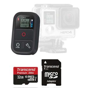 4-gopro-original-smart-waterproof-remote-control-and-memory-card-bundle-for-gopro-hero-cameras