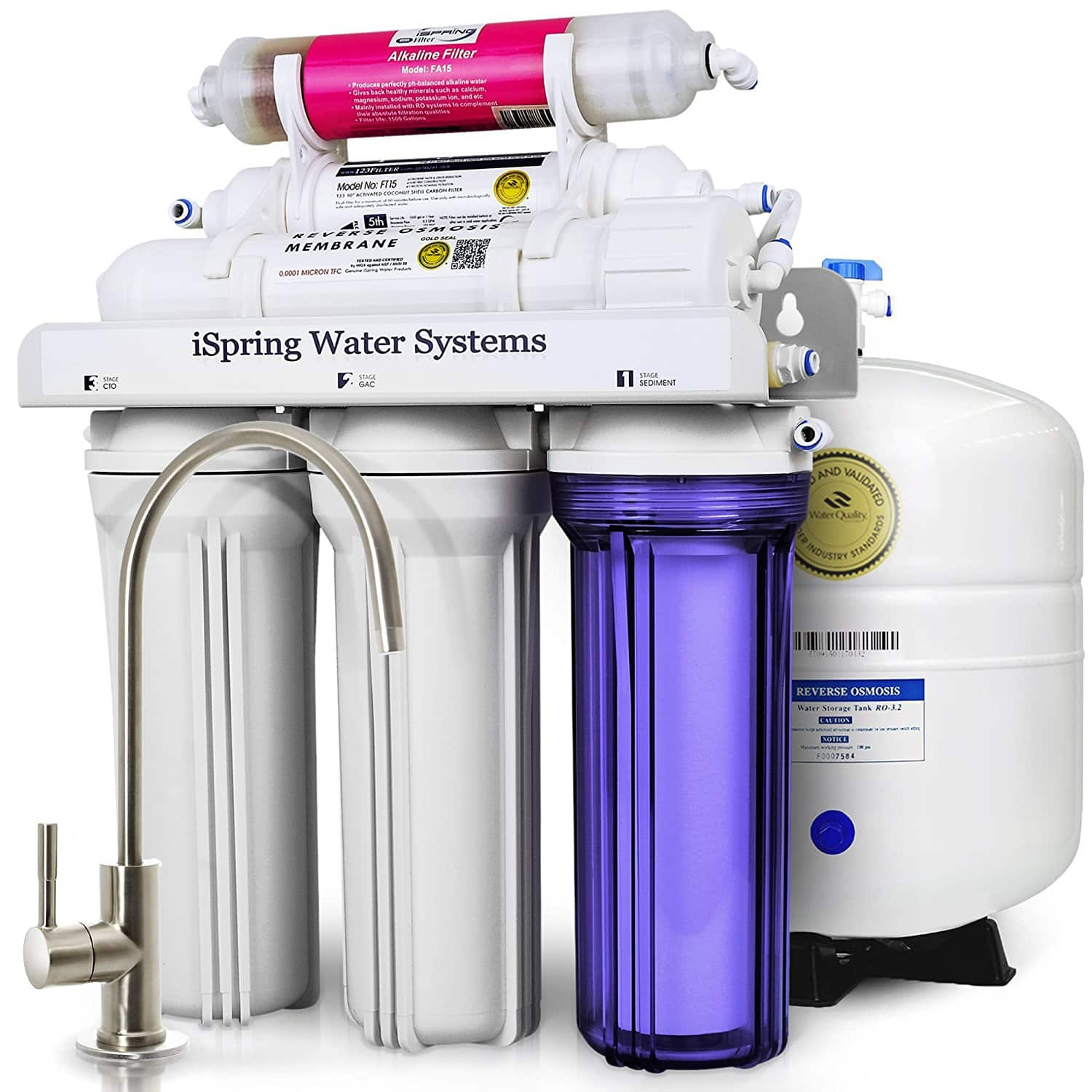Top 10 Best Undersink Reverse Osmosis Water Filter Systems