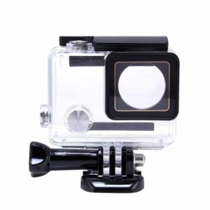Kupton Housing Case for GoPro Hero 7 White//Silver Waterproof Case Diving Protect