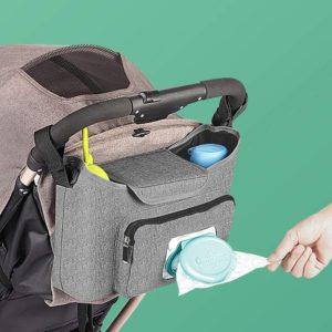 10. Lzellah Baby Stroller Organizer