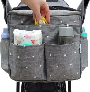 3. Ozziko Universal Parents Diaper Organizer Bag