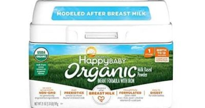 Top 10 Best Organic Infant Formulas in 2018