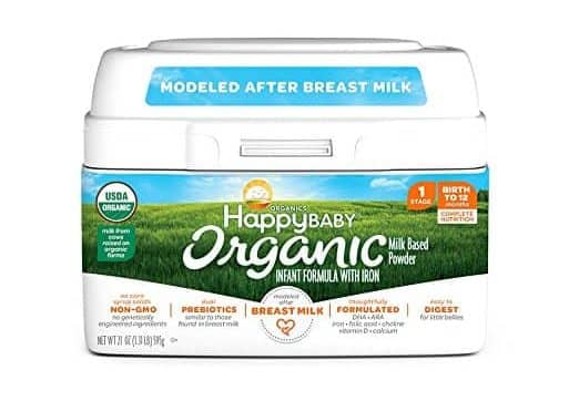 Top 10 Best Organic Infant Formulas in 2018 - TopTenTheBest
