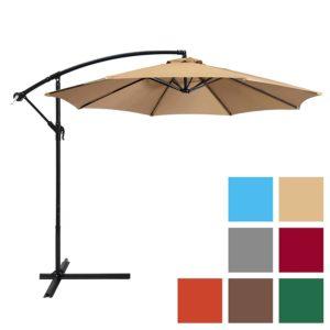 Top 10 Best Offset Patio Umbrellas In 2019 Toptenthebest