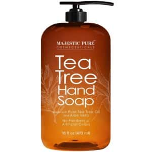 7. Majestic Pure Tea Tree Hand Soap