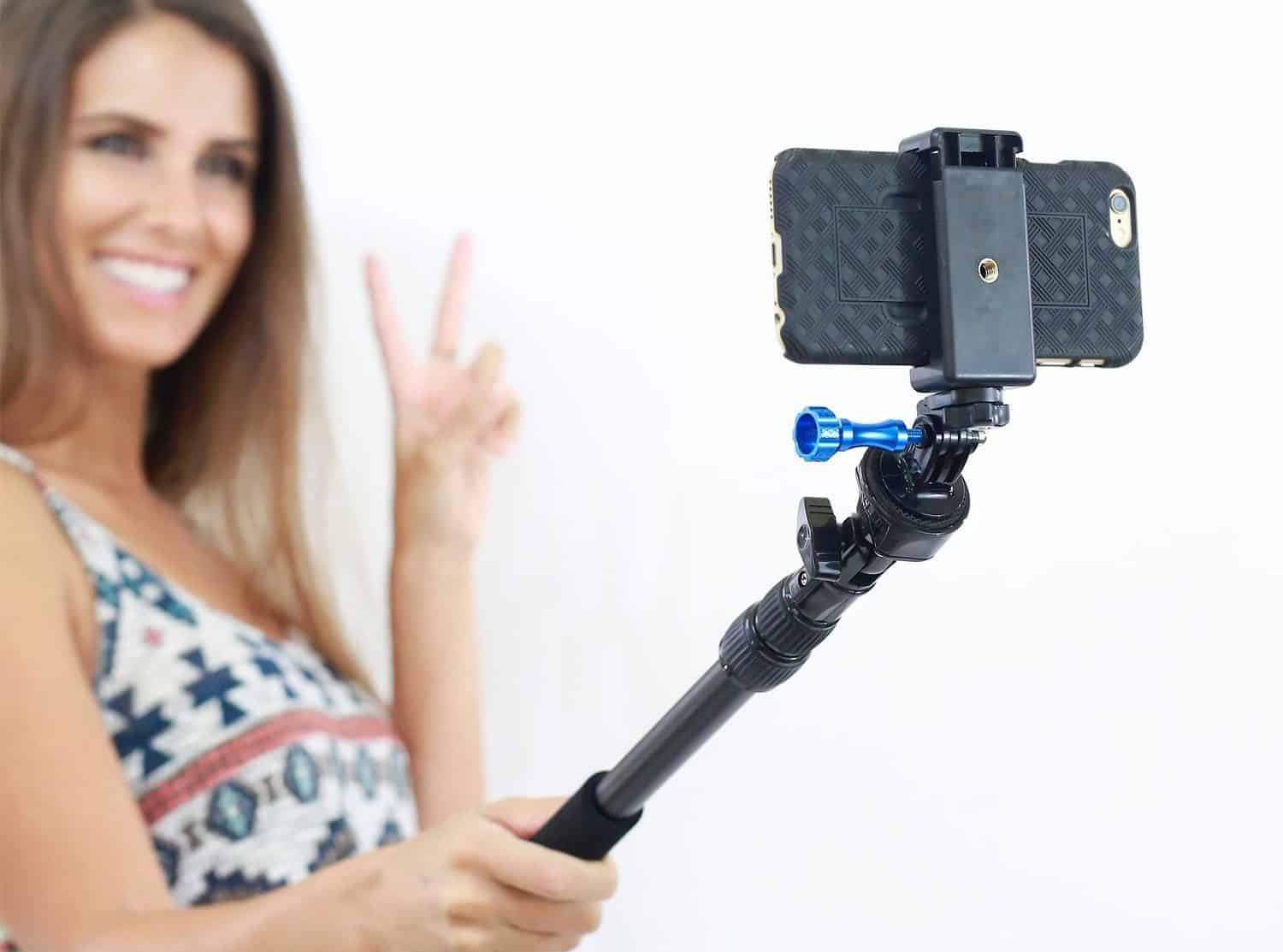best cheap 60a63 4143b Top 10 Best Waterproof Selfie Sticks for GoPro in 2019 - TopTenTheBest