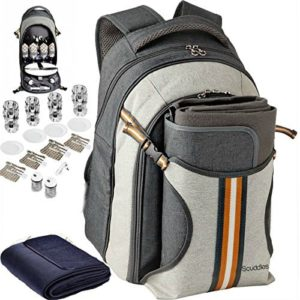 North Coyote Hiking Backpack Cooler Bag Insulated Large Camping Back