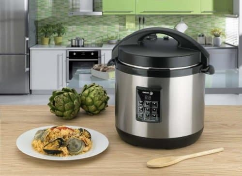 top 10 best electric pressure cookers in 2019 toptenthebest. Black Bedroom Furniture Sets. Home Design Ideas