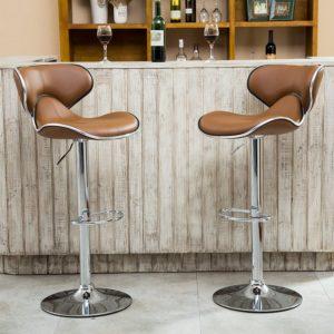 Brilliant Top 10 Best Adjustable Bar Stools In 2019 Toptenthebest Inzonedesignstudio Interior Chair Design Inzonedesignstudiocom