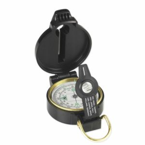 10. NDuR Lensatic Compass with Whistle