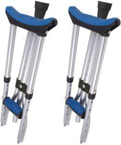3. Carex Folding Aluminum Underarm Crutches