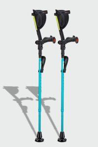 4. Ergoactives Ergobaum Prime Ergonomic Forearm Crutches